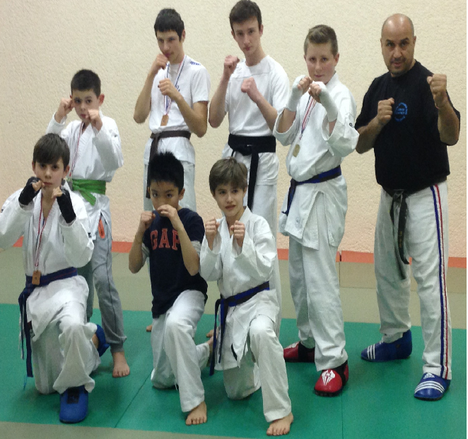 Karate light contact - Karate Club Ramonville - AMAR Bensadallah